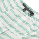 Absorba Striped Green Bermudas