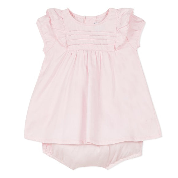 Absorba Pintuck Pink Dress