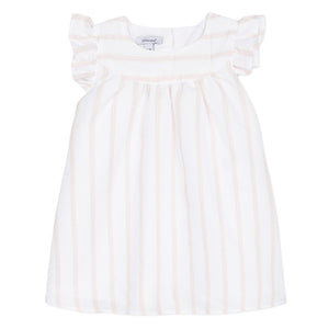 Absorba Striped Park Pink Dress