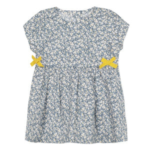 Absorba Floral Liberty Blue Ocean Dress