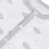 Absorba Clouds Print White Romper