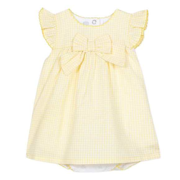 Absorba Savana Yellow Gingham Romper