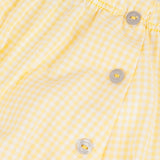 Absorba Savana Yellow Gingham Set