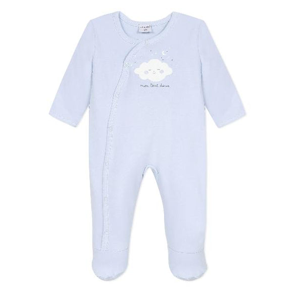 Absorba Soft Cloud Blue Sleepsuit