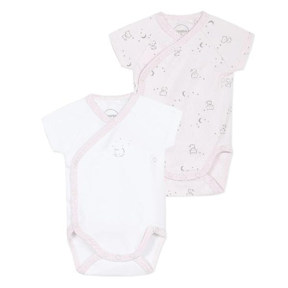 Absorba Cats Short Sleeves Pink Body Set
