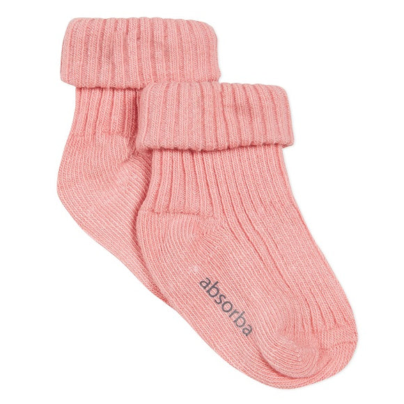 Absorba Salmon Baby Socks