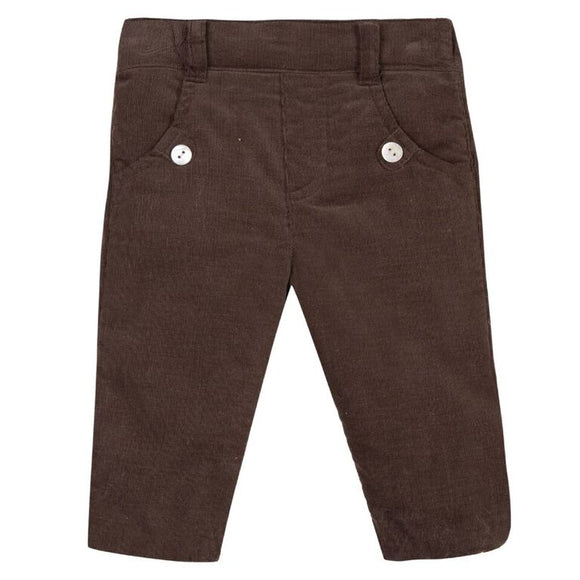 Tartine et Chocolat Brown Plants Garden Trousers