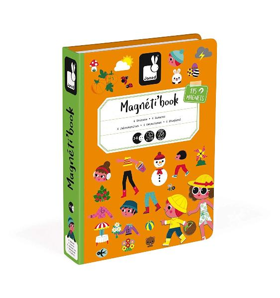 Janod 4 Seasons Magneti'book