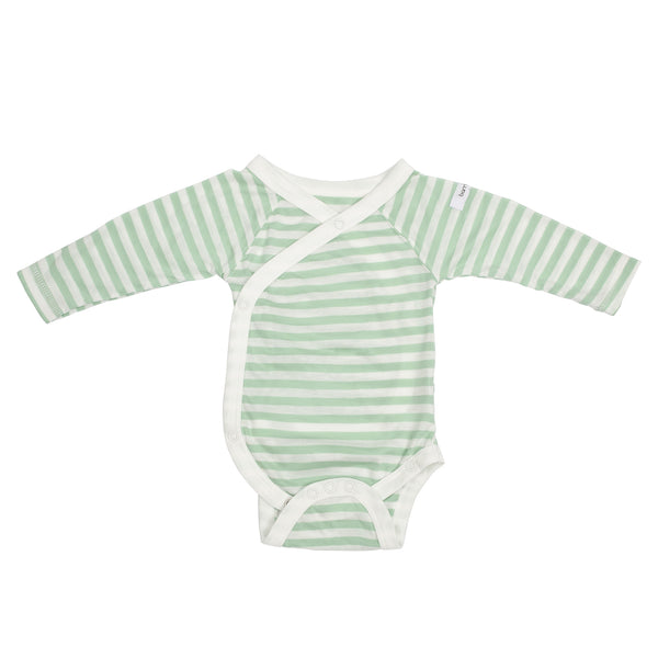 Bamboo Kidz Long Sleeved Wrap Around Body
