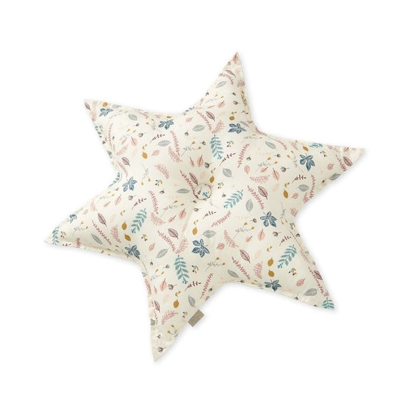 Star Cushion - OCS Pressed Leaves Rose