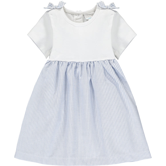 Oxford Stripe baby dress