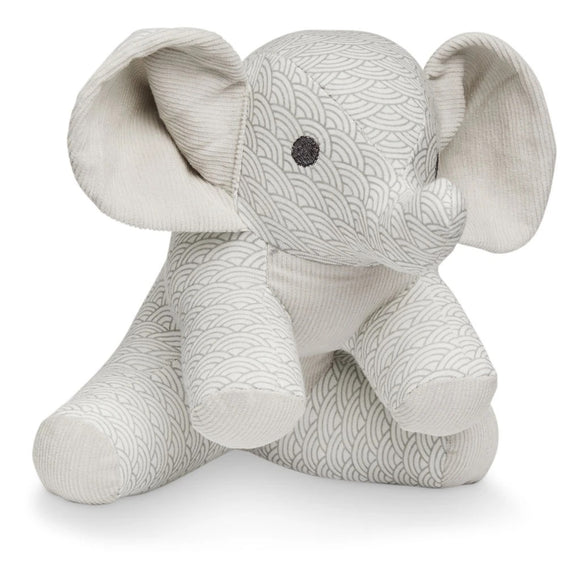 Elephant Soft Toy - OCS Grey Wave