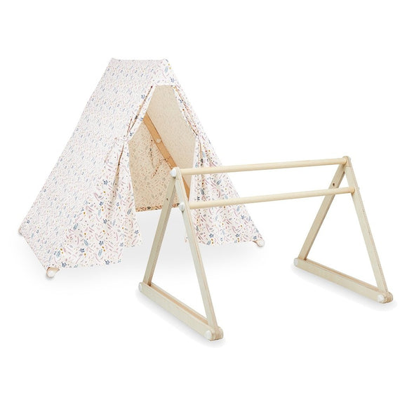Play Gym/Tent 2 in 1 - Pressed Leaves Rose