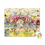 Janod Hat Boxed 54 Pcs Puzzle Circus