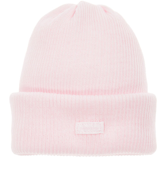 Absorba Pink Ribbed Cotton Hat