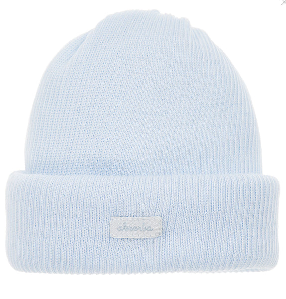 Absorba Blue Newborn Hat