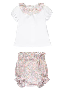 michelle liberty print t shirt and bloomers