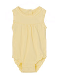 Mini A Ture Julie Pale Banana Romper