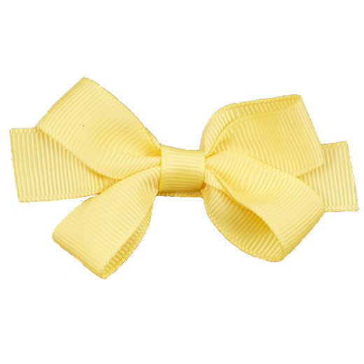 Peach Ribbons Medium Hair Bow