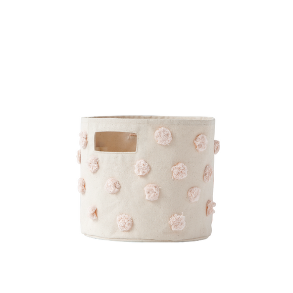 Pehr Blush Pom Pom Pint Basket