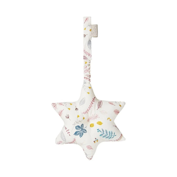 Star Play Gym Toy - OCS Pressed Leaves Rose