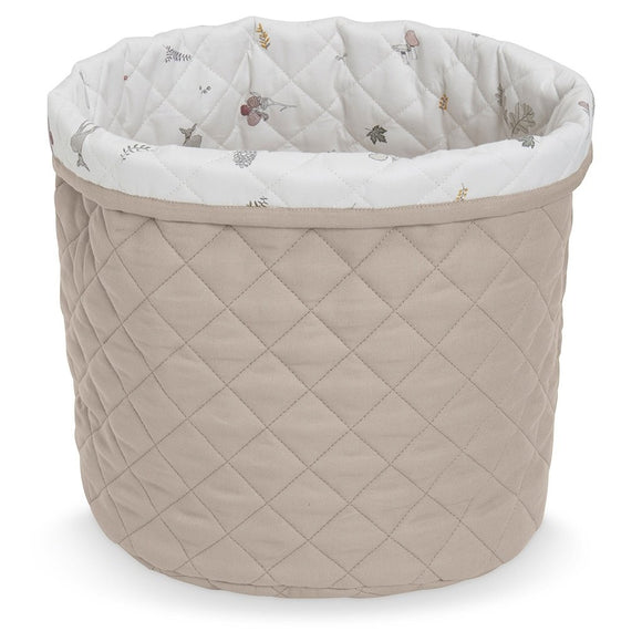 Quilted Medium Storage Basket - OCS Hazel