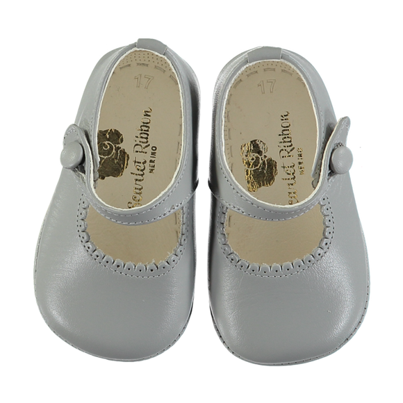 Lucy Grey Baby Shoes