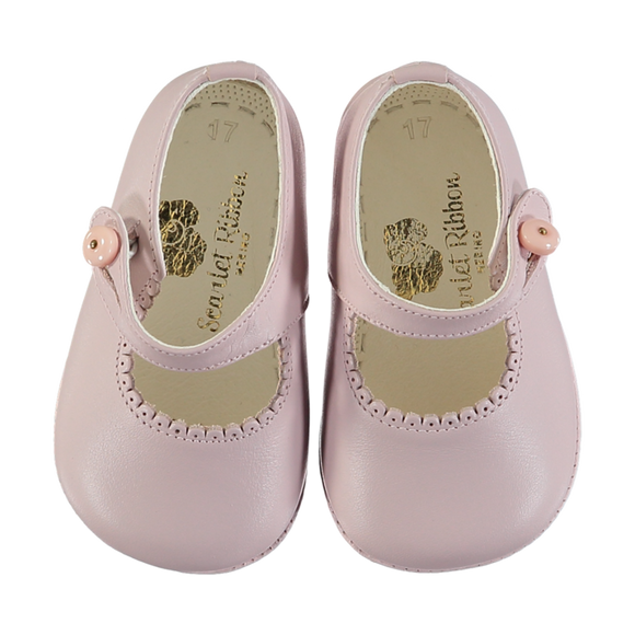 Lucy Pink Baby Shoes size 19