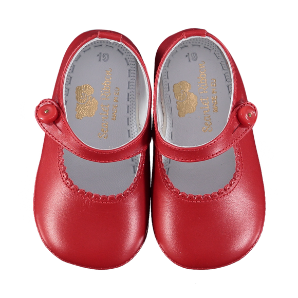 Lucy Scarlet Baby Shoes