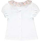 "Short Sleeve T-shirt With ""Michelle"" Liberty Collar and matching Bloomers"