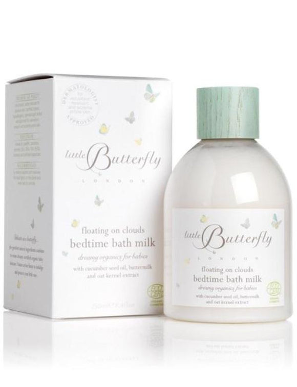 Little Butterfly Floating On Clouds Bedtime Bathmilk