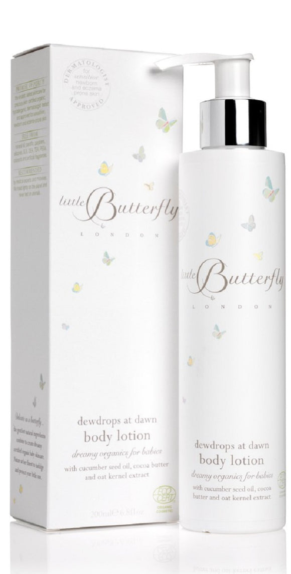 Little Butterfly Dewdrops At Dawn Body Lotion