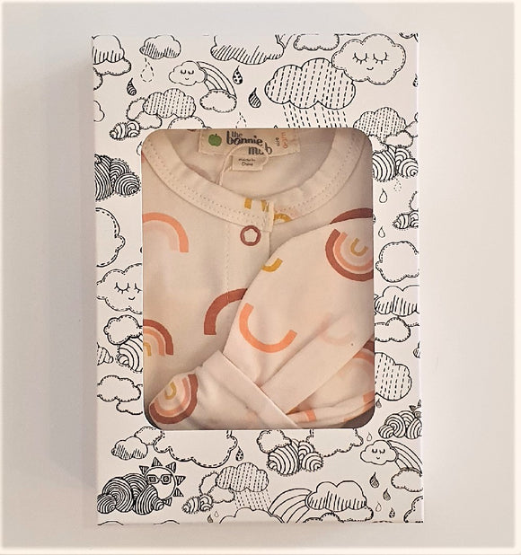 Brighton Peach Sleepsuit Gift Box