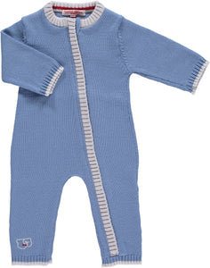 Scarlet Ribbon Merino Cornflower Blue Daysuit
