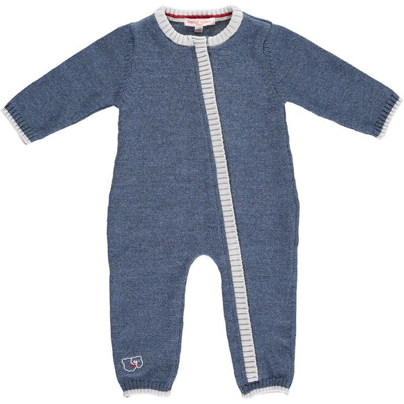 Scarlet Ribbon Merino Denim Daysuit