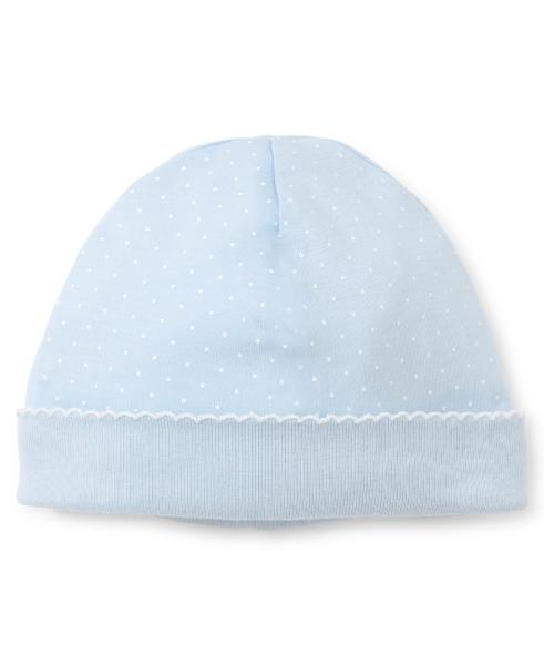 Kissy Kissy Kissy Dots Blue White Hat