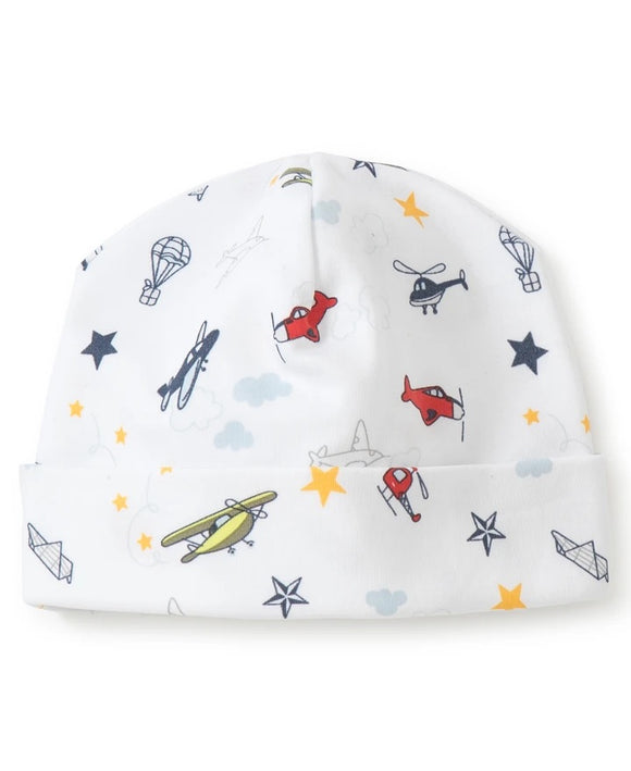 kissy kissy aviators print hat