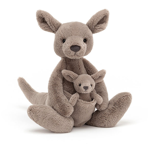 jellycat kara the kangaroo and joey