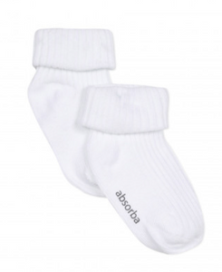 White Baby Socks