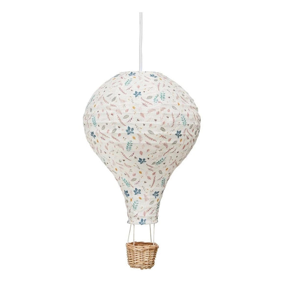 Hot Air Balloon Nursery Light  - Pressed Leaves