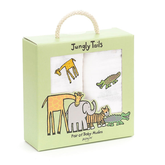 jellycat jungly tail muslins