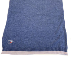 Merino Denim Lightweight Blanket