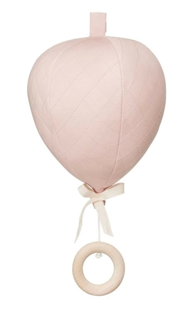 Balloon Musical Mobile - Blossom Pink