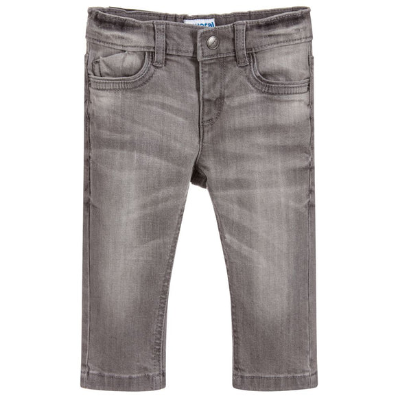 Mayoral Grey Denim Trousers