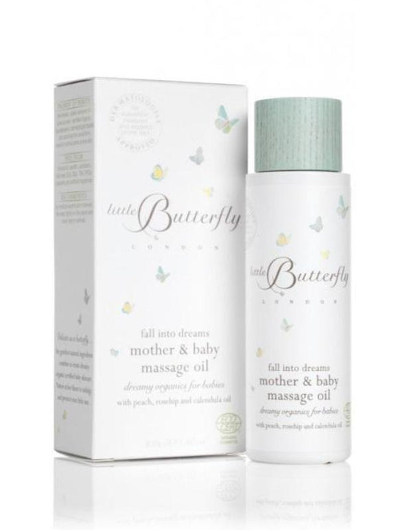 Little Butterfly Fall Into Dreams Mother And Baby Massage Oil
