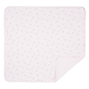 Cats Print Pink Blanket