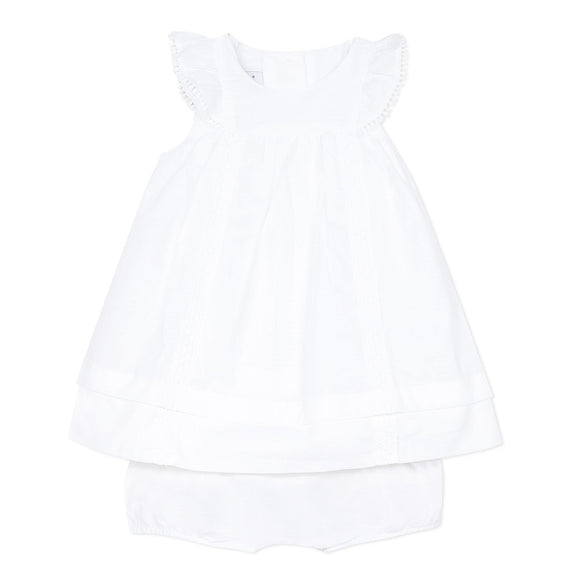 Orangerie White Dress and Bloomers in 18m and 3Y