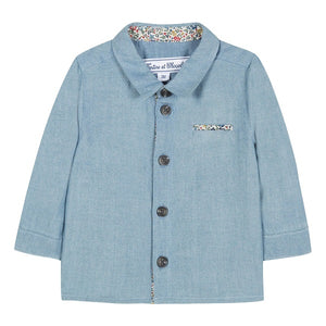 Tartine et Chocolat Socoa Denim Shirt