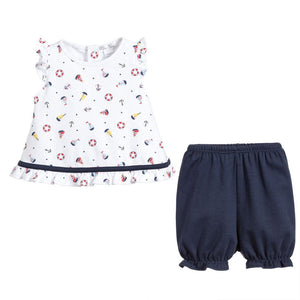 Kissy Kissy Summer Sails Sunsuit