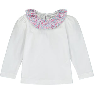 T-shirt With Liberty Katie & Millie Collar